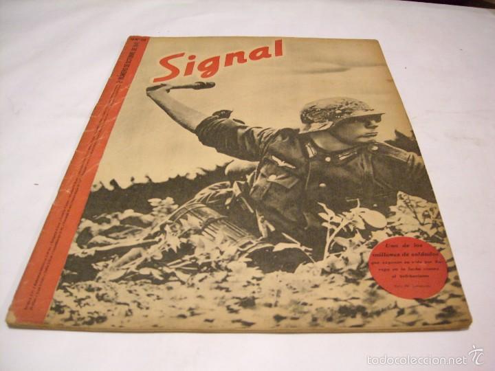 Militaria: Signal; lote de cinco revistas - Foto 4 - 58013532