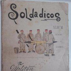 Militaria: SOLDADICOS, POR MELITON GONZALEZ, EDITOR PEDRO TORRELLA, BARCELONA.. Lote 58282253