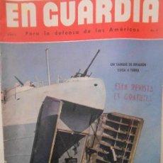 Militaria: EN GUARDIA PARA LA DEFENSA DE LAS AMERICAS. AÑO 3. NUMERO 9. Lote 58547934