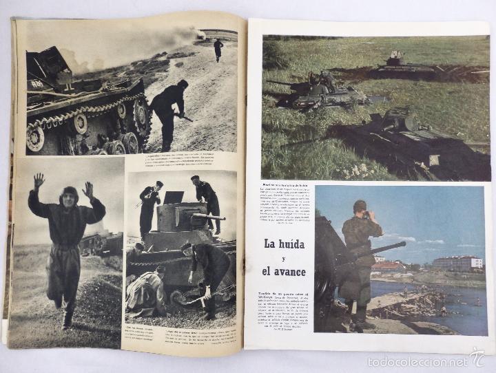 Militaria: SIGNAL. Nº 17 PRIMER NÚMERO DE SEPTIEMBRE DE 1941. EDICION EN ESPAÑOL - Foto 2 - 58629321