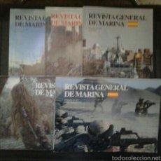 Militaria: LOTE REVISTA GENERAL DE MARINA. Lote 58683278