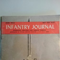 Militaria: INFANTRY JOURNAL. OVERSEAS EDITION FOR ARMED FORCES. JUNIO 1945.. Lote 59633648