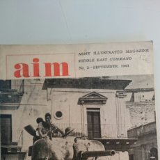 Militaria: AIM. ARMY ILLUSTRATED MAGAZINE. N 3. 1943. REVISTA II GUERRA MUNDIAL.. Lote 59634325