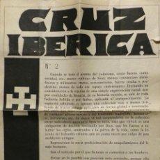 Militaria: PERIÓDICO CRUZ IBERICA Nº 2. Lote 60082179