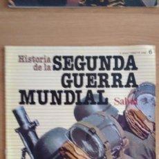 Militaria: HISTORIA DE LA 2ª GUERRA MUNDIAL SALVAT FASCICULO 6. Lote 60162043