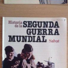 Militaria: HISTORIA DE LA 2ª GUERRA MUNDIAL SALVAT FASCICULO 7. Lote 60162119