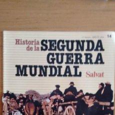 Militaria: HISTORIA DE LA 2ª GUERRA MUNDIAL SALVAT FASCICULO 14. Lote 60164327