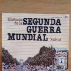 Militaria: HISTORIA DE LA 2ª GUERRA MUNDIAL SALVAT FASCICULO 20. Lote 60165179