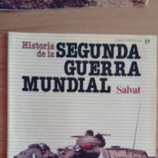 Militaria: HISTORIA DE LA 2ª GUERRA MUNDIAL SALVAT FASCICULO 37. Lote 60178943
