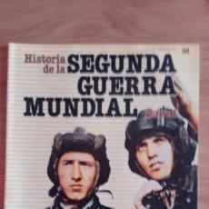 Militaria: HISTORIA DE LA 2ª GUERRA MUNDIAL SALVAT FASCICULO 38. Lote 60179003