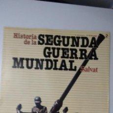 Militaria: HISTORIA DE LA 2ª GUERRA MUNDIAL SALVAT FASCICULO 2. Lote 60161627