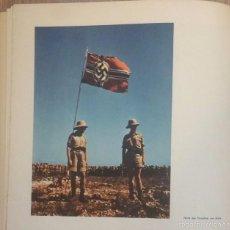 Militaria: LIBRO ALEMAN 105 FOTOS EN COLOR!! LUFTWAFFE - WEHRMACHT - FRENTE AEREO 1942 PROPAGANDA ALEMANA. Lote 60589627
