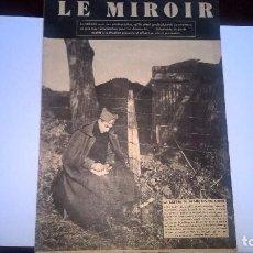 Militaria: LE MIROIR (5 NOVIEMBRE 1939). Lote 62772636