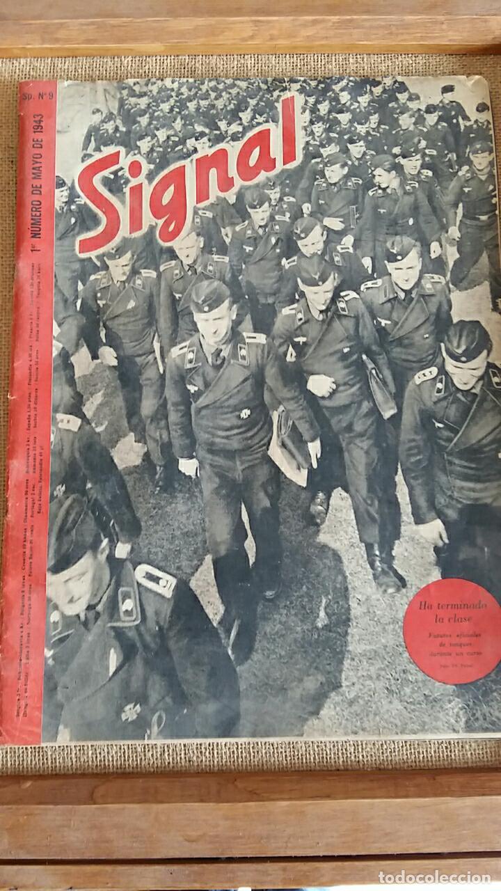 REVISTA MILITAR SIGNAL. 1° NUMERO DE SEPTIEMBRE 1941 (Militar - Revistas y Periódicos Militares)