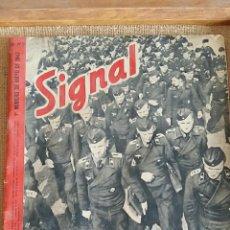 Militaria: REVISTA MILITAR SIGNAL. 1° NUMERO DE SEPTIEMBRE 1941. Lote 62804392