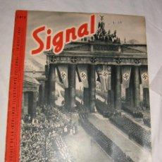 Militaria: SIGNAL Nº 9 - 1940 ED. F EDICION FRANCESA - REVISTA ALEMANA, RARO III REICH SEGUNDA GUERRA MUNDIAL. Lote 64157331