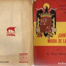 Militaria: LIBRO 1940 -Nº 17 - SANTA MARIA DE LA CABEZAL - LA RECONQUISTA - ESPAÑA BIBLIOTECA INFANTIL. Lote 179253156