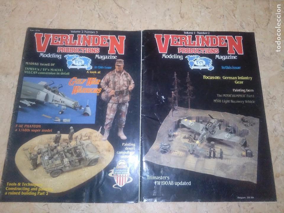 VERLINDEN, PRODUCTIONS VOLUMEN 1 Y 2 (Militar - Revistas y Periódicos Militares)
