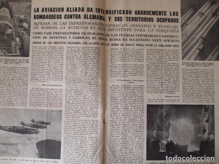 Militaria: REVISTA MUNDO - ABRIL 1944 - Foto 3 - 65833046