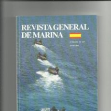 Militaria: REVISTA GENERAL DE MARINA JUNIO 2010. Lote 65888306