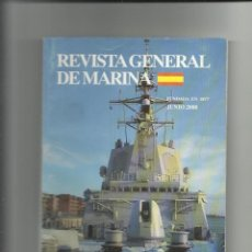 Militaria: REVISTA GENERAL DE MARINA JUNIO 2008. Lote 65888414