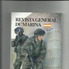 Militaria: REVISTA GENERAL DE MARINA OCTUBRE 2011. Lote 65888494