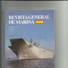 Militaria: REVISTA GENERAL DE MARINA JULIO 2010. Lote 65888682