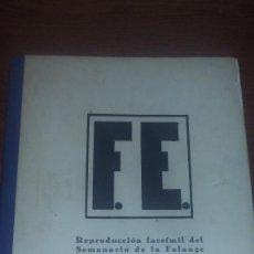 Militaria: FACSIMIL PERIODICO FE (FALANGE) 1943 REF. EST. 3. Lote 106655972