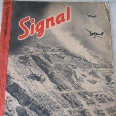 Militaria: REVISTA SIGNAL - NOVIEMBRE DE 1942. Lote 66189998