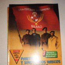 Militaria: REVISTA DEFENSA MEMORIA DE LA GUERRA DE EUZKADI 9 . Lote 66518314