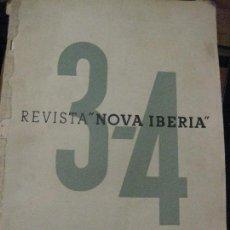 Militaria: DIFICIL REVISTA NOVA IBERIA GUERRA CIVIL . COMISSARIAT DE PROPAGANDA . ESCUELA CATALANA 3 - 4 ARXIUS. Lote 76695978