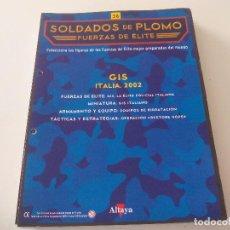 Militaria: SOLDADOS DE PLOMO. FUERZAS DE ÉLITE. ALTAYA SOLO FASCICULO, Nº 36. GIS ITALIA. ÉLITE POLICIAL ITALIA. Lote 67756693
