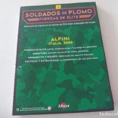 Militaria: SOLDADOS DE PLOMO FUERZAS DE ÉLITE ALTAYA SOLO FASCICULO Nº 4. ALPINI. ITALIA 2000. Lote 67758717