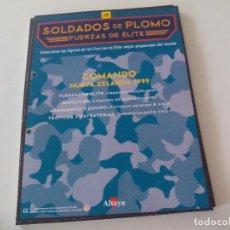 Militaria: SOLDADOS DE PLOMO FUERZAS DE ÉLITE ALTAYA SOLO FASCICULO Nº 19 COMANDO NUEVA ZELANDA. 1999. Lote 67761625