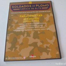 Militaria: SOLDADOS DE PLOMO FUERZAS DE ÉLITE ALTAYA SOLO FASCICULO Nº 27. PARACAIDISTAS ALEMANES. ALEMANIA. Lote 67763065