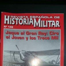 Militaria: REVISTA ESPAÑOLA HISTORIA MILITAR 149. Lote 68257543