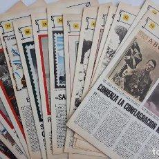 Militaria: 15 FASCICULOS COLECCIONABLES ABC SEGUNDA GUERRA MUNDIAL.. Lote 68581205