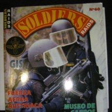 Militaria: SOLDIERS RAIDS. Nº60. Lote 68956533