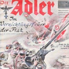 Militaria: DER ADLER Nº 15 23 DE JULIO DE 1940 EDICIÓN ALEMANA/ESPAÑOLA. Lote 71562231