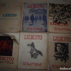 Militaria: EJERCITO. REVISTA ILUSTRADA DE LAS ARMAS Y SERVICIOS. MINISTERIO DEL EJERCITO. . Lote 72168727