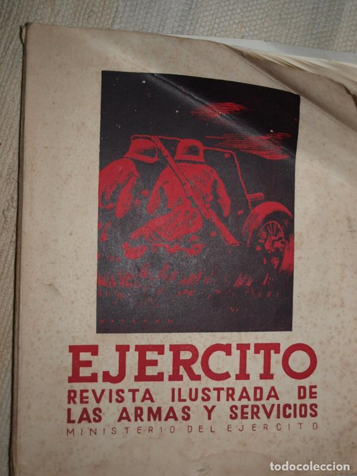 Militaria: Ejercito. Revista Ilustrada de las Armas y Servicios. Ministerio del Ejercito. - Foto 2 - 72168727