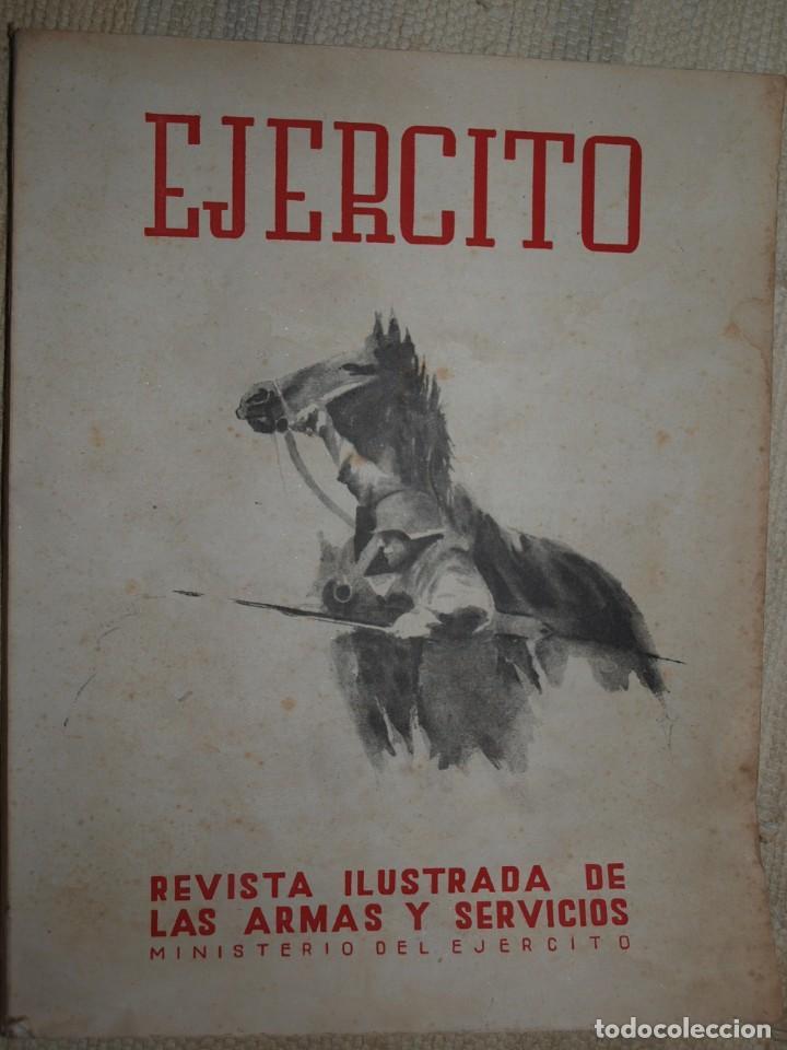 Militaria: Ejercito. Revista Ilustrada de las Armas y Servicios. Ministerio del Ejercito. - Foto 3 - 72168727