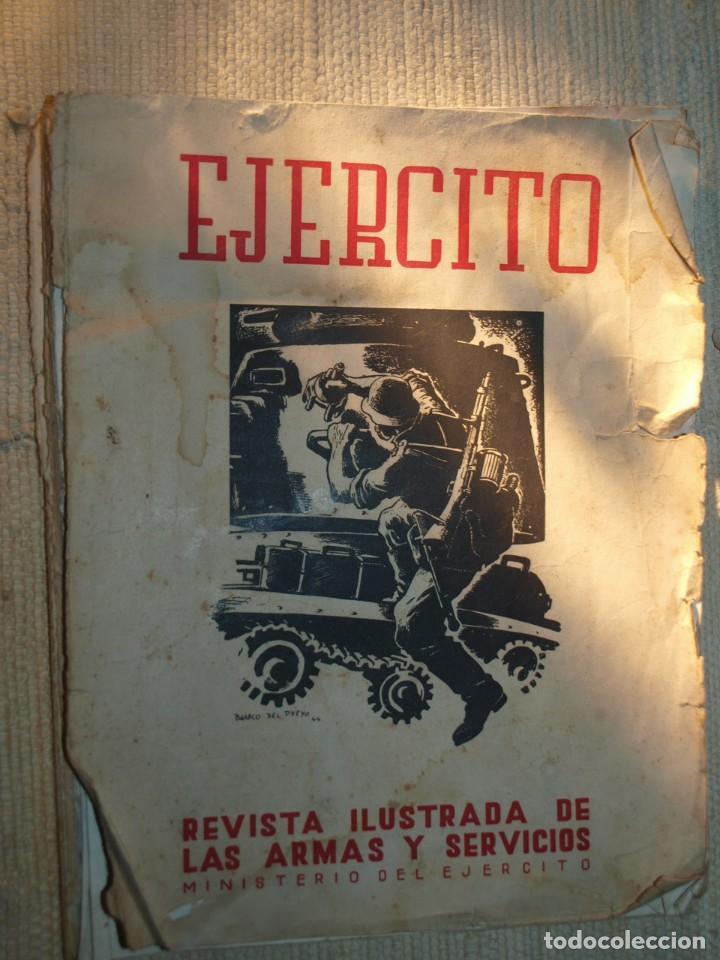 Militaria: Ejercito. Revista Ilustrada de las Armas y Servicios. Ministerio del Ejercito. - Foto 4 - 72168727