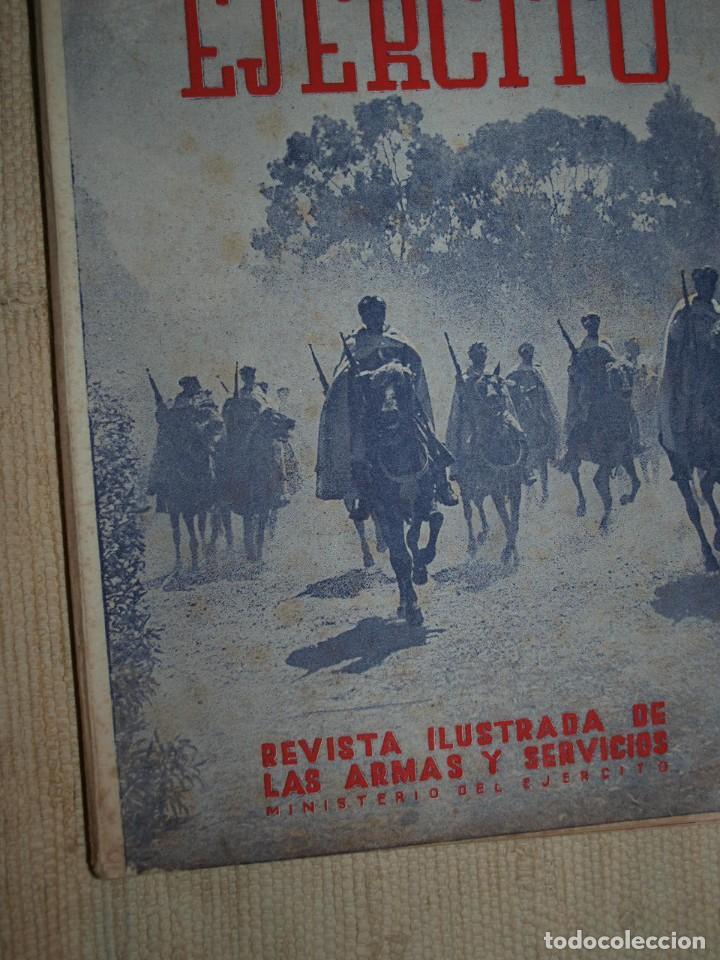 Militaria: Ejercito. Revista Ilustrada de las Armas y Servicios. Ministerio del Ejercito. - Foto 5 - 72168727