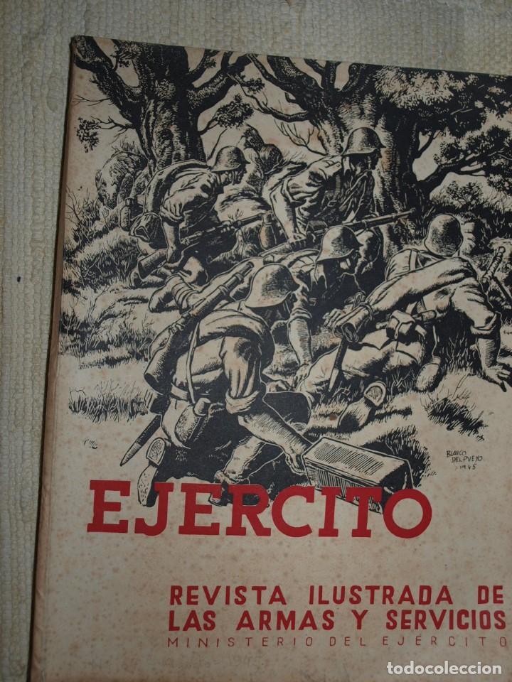 Militaria: Ejercito. Revista Ilustrada de las Armas y Servicios. Ministerio del Ejercito. - Foto 7 - 72168727
