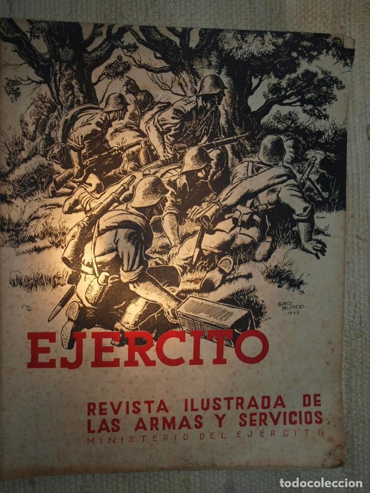 Militaria: Ejercito. Revista Ilustrada de las Armas y Servicios. Ministerio del Ejercito. - Foto 8 - 72168727