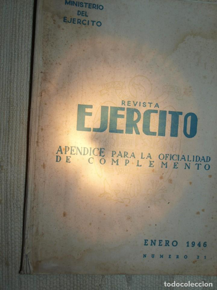Militaria: Ejercito. Revista Ilustrada de las Armas y Servicios. Ministerio del Ejercito. - Foto 9 - 72168727