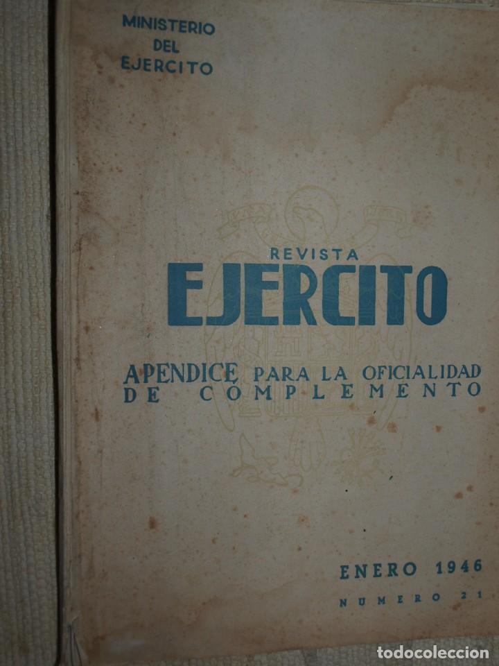 Militaria: Ejercito. Revista Ilustrada de las Armas y Servicios. Ministerio del Ejercito. - Foto 10 - 72168727