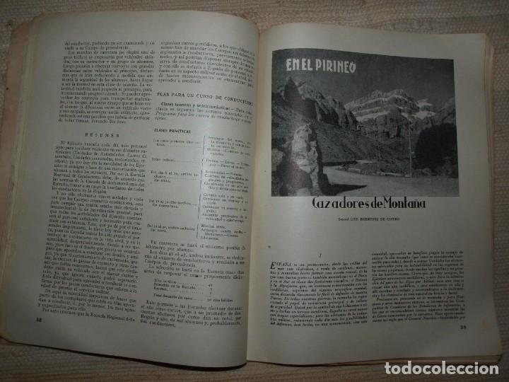 Militaria: Ejercito. Revista Ilustrada de las Armas y Servicios. Ministerio del Ejercito. - Foto 13 - 72168727