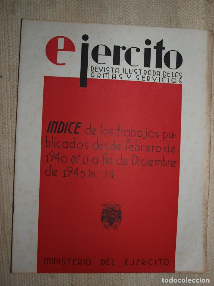 Militaria: Ejercito. Revista Ilustrada de las Armas y Servicios. Ministerio del Ejercito. - Foto 16 - 72168727